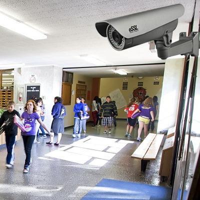 Видеонаблюдение для школы, детского сада